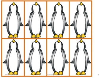 Playful Penguins Math Game Pack
