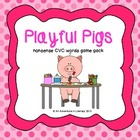 Playful Pigs Nonsense CVC Games