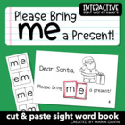 "Interactive Sight Word Reader ""Please Bring me a Present!"""