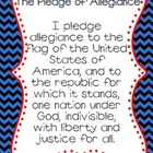 Pledge of Allegiance 11x17