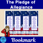 Pledge of Allegiance Bookmarks Freebie