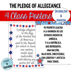 Pledge of Allegiance in English & Spanish