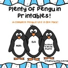 Plenty of Penguin Printables! A Complete Penguin Unit in 1 Pack!