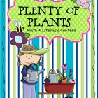 Plenty of Plants Math &amp; Literacy Centers