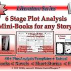 Plot 6 Stage Mini-Book Analysis Activity Common Core Literature