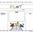 Plot Graphic Organizer (using a Roller Coster)