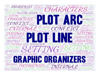 Plot Line Graphic Organizer with Notes
