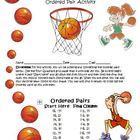 Plotting Ordered Pairs Creative Math Activity (Basketball Jersey)
