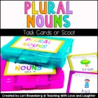 Plural Nouns Scoot Game