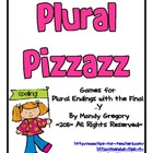 "Plural Pizzazz: Games for Plural Endings with the Final ""Y """