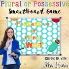 Plural or Possessive Noun Swat Game