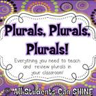 Plurals Activity Pack
