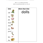 Plurals-Adding s or es