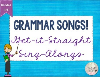 Plurals, Possessives, and Plural Possessives: Get-it-Straight Sing-Alongs