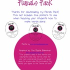 Plurals Posters - How Do I Make Words Plural