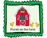 "Plurals on the Farm: Introduction to the Plural ""-s"" ending"