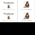 Pocahontas Emergent Reader... a printable mini-book!