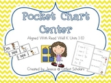 Pocket Chart Center Aligned with Read Well K Units 1-10