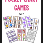 Pocket Chart Concentration Math Games