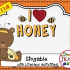 Pocket Chart Fun! I Love Honey! A Shared Reading Singable Poem