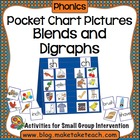 Pocket Chart Pictures- Blends and Digraphs