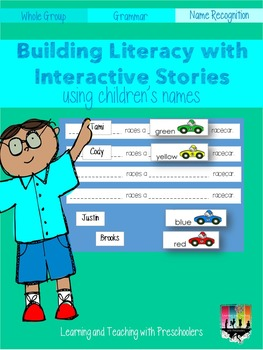 Pocket Chart Stories Using Children's Names