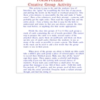 Poem Puzzle - Creative Group Activity
