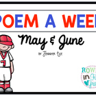 Poem a Week May and June