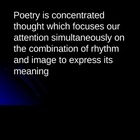 Poetry Basics Powerpoint
