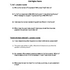 Poetry - Civil Rights Poem Discussion Questions