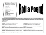 Poetry Dice Game - Roll a Poem