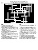 Poetry Forms Crossword and Word Search with KEYs