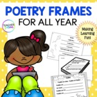 Poetry Frames For All Year (Grades 1 - 3)