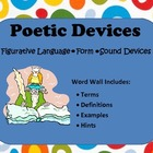 Poetry Informational Posters (Basic Skills - Fig Lang, For