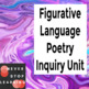 Poetry Inquiry Unit - Figurative Language
