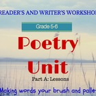 Poetry Month (Part 1 of 2) CCSS Aligned