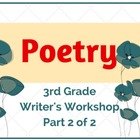 Poetry Month (Part 2 of 2) Lower Elementary Writer&#039;s Workshop