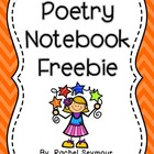Poetry Notebook: Covers, Table of Contents, and Log