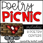Poetry Picnic Centers! Practice Poetic Devices {6 center a