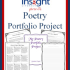 Poetry Portfolio Project - Reading Response, Project Menu &amp; More