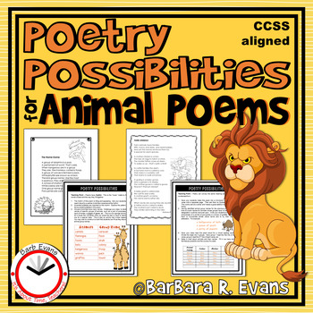 Poetry Possibilities for Animal Poems