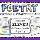 Poetry Posters and Practice Pages