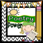Poetry Power: Poetry Centers, Poetry Activities &amp; Poetry T
