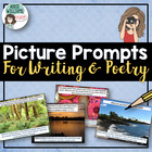 Poetry Prompts / Writing Prompts Power Point (Editable!)