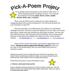 Poetry Reciting Project