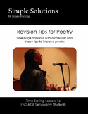 Poetry Revision Tips