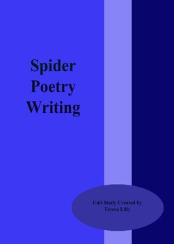 Poetry: Spider Poetry Writing Unit Study