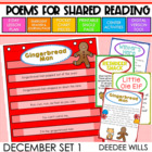 Poetry Station and Shared Reading for December-CC aligned