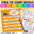 Poetry Station and Shared Reading for October-CC aligned