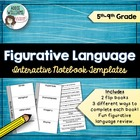 Poetry Terms - Interactive Notebook Templates for Figurati